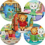 Daniel Tiger Coloring Books Awesome Amazon Smilemakers Daniel Tiger S Neighborhood Stickers
