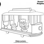 Daniel Tiger Coloring Brilliant Daniel Tiger and Margaret Coloring Page Unique Daniel Tiger S