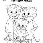 Daniel Tiger Coloring Excellent Print Out Grr Rific Coloring Pages for Your Weekend Adventures