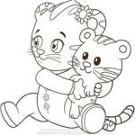 Daniel Tiger Coloring Wonderful 1023 Best Daniel Tiger Images In 2019