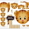 Daniel Tiger Printables Awesome Instant Download Printable Daniel Tiger Birthday Party Centerpiece