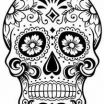 Day Of the Dead Coloring Pages for Adults Marvelous Beautiful Skull Candy Coloring Pages Nocn
