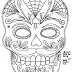 Day Of the Dead Coloring Pages for Adults Marvelous Panda Skull Drawing at Getdrawings
