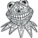 Day Of the Dead Coloring Sheets Awesome Coloring Pages Free Printable Adults – Redleatherbookingfo