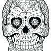 Day Of the Dead Coloring Sheets Creative Coloring Pages Sugar Skull Coloring Page Printable Free Pages Day
