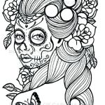 Day Of the Dead Coloring Sheets Elegant Coloring Pages Sugar Skull Coloring Page Printable Free Pages Day