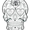 Day Of the Dead Coloring Sheets Excellent Coloring Pages Skulls Candy Day the Dead for Adults Free