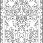 Day Of the Dead Coloring Sheets Exclusive Day Of the Dead Coloring Sheets Dover Publications Coloring