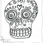 Day Of the Dead Coloring Sheets Inspiration Sugar Skull Coloring Sheets