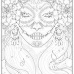 Day Of the Dead Coloring Sheets Marvelous 254 Best Sugar Skulls Day Of the Dead Coloring Pages for Adults