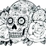 Day Of the Dead Coloring Sheets Wonderful Coloring Pages Skulls Candy Day the Dead for Adults Free