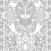 Day Of the Dead Pictures to Print Awesome Day Of the Dead Coloring Sheets Dover Publications Coloring