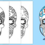 Day Of the Dead Pictures to Print Awesome Day Of the Dead Mindfulness Colouring Activity