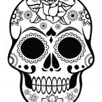Day Of the Dead Pictures to Print Awesome Luxury Day Dead Skull Coloring Pages – Kursknews