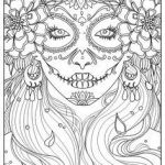 Day Of the Dead Pictures to Print Inspirational 254 Best Sugar Skulls Day Of the Dead Coloring Pages for Adults