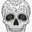 Day Of the Dead Pictures to Print Inspirational Luxury Day Dead Skull Coloring Pages – Kursknews