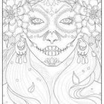Day Of the Dead Pictures to Print New 254 Best Sugar Skulls Day Of the Dead Coloring Pages for Adults