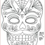 Day Of the Dead Skull Coloring Sheets Awesome Coloring Day Of the Dead – Sandboxpaper