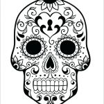 Day Of the Dead Skull Coloring Sheets Awesome Day Of the Dead Coloring Book – Copage