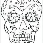Day Of the Dead Skull Coloring Sheets Beautiful Coloring Day Of the Dead – Sandboxpaper