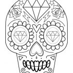 Day Of the Dead Skull Coloring Sheets Best Coloring Page Fantastic Sugar Skull Coloring Simple Ideas Pages