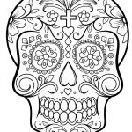 Day Of the Dead Skull Coloring Sheets Brilliant 23 Dia De Los Muertos Coloring Pages Printable Collection Coloring