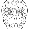 Day Of the Dead Skull Coloring Sheets Brilliant Coloring Page Day the Hard Free Printable Sugar Skulls