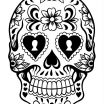 Day Of the Dead Skull Coloring Sheets Creative February 2019 Archives Page 24 32 Extraordinary Color by Number