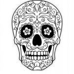 Day Of the Dead Skull Coloring Sheets Creative Luxury Day Dead Skull Coloring Pages – Kursknews