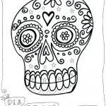 Day Of the Dead Skull Coloring Sheets Inspirational Sugar Skull Coloring Pages Download Colouring Sugar Skull