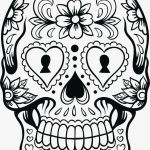 Day Of the Dead Skull Coloring Sheets Inspiring Luxury Day Dead Skull Coloring Pages – Kursknews