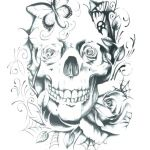 Day Of the Dead Skull Coloring Sheets Pretty Skulls Coloring Pages – Vitalmethod