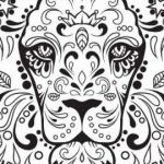 Day Of the Dead Skull Template Printable Amazing Free Printable Day the Dead Coloring Pages Elegant Day the Dead