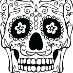 Day Of the Dead Skull Template Printable Awesome Day the Dead Skull Template Blank Skulls Templates Sugar Ideas