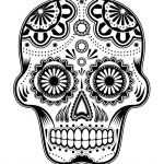 Day Of the Dead Skull Template Printable Awesome Free Skulls Download Free Clip Art Free Clip Art On