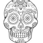 Day Of the Dead Skull Template Printable Beautiful 583 Best Day Of the Dead Skull Images In 2018