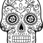 Day Of the Dead Skull Template Printable Beautiful 88 Best Day Of the Dead Masks Images In 2019