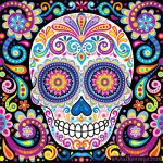 Day Of the Dead Skull Template Printable Best Printable Day the Dead Skull Mask Template Galery Website Templates