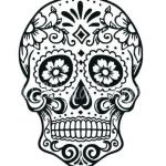 Day Of the Dead Skull Template Printable Elegant Day the Dead Printables Download by – arenadirectoryfo