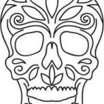 Day Of the Dead Skull Template Printable Excellent 17 Best Skull Template Images In 2015
