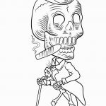 Day Of the Dead Skull Template Printable Excellent Free Printable Sugar Skull Coloring Pages Unique Free Walking Dead
