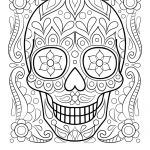 Day Of the Dead Skull Template Printable Inspirational 23 Dia De Los Muertos Coloring Pages Printable Collection Coloring