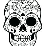 Day Of the Dead Skull Template Printable Inspirational Blank Sugar Skull Template Templates Design Free Download Sugar