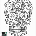 Day Of the Dead Skull Template Printable Inspiring Coloring Sugar Skull Coloring Book Day the forlts Bestlt Pages
