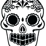 Day Of the Dead Skull Template Printable Inspiring Day the Dead Skull Template Blank Skulls Templates Sugar Ideas