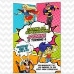 Dc Superhero Girls Invitations Awesome 113 Best Girls Party Images In 2019