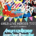 Dc Superhero Girls Invitations Best 84 Best Poison Ivy Superhero Images In 2016