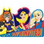 Dc Superhero Girls Invitations Pretty 30 Best Dc Superhero Girls Party Ideas Images In 2019