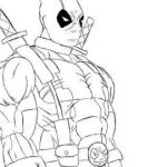 Deadpool Coloring Pages Best √ Deadpool Coloring Pages and Marvel Coloring Pages Beautiful