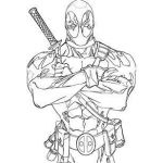 Deadpool Coloring Pages Inspired Deadpool Coloring Pages